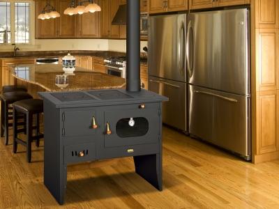 Cocina de le a 2m climacity expertos en for Cocinas de lena con horno