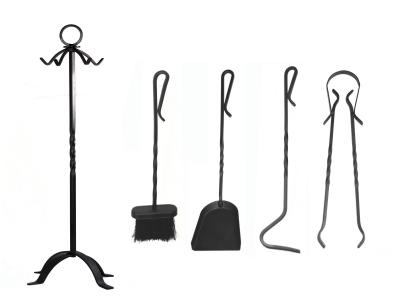 Juego 4 accesorios para chimenea expertos - Accesorios chimeneas de lena ...