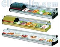 Expositor Refrigerado para Alimentos Serie Top COMERSA