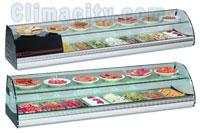 Expositor Refrigerado para Alimentos Serie Top2P COMERSA
