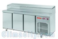 BajoMostrador Refrigerado Gastronorm para ensaladas COMERSA
