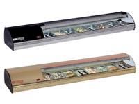 Expositor Refrigerado para Alimentos con Grupo Incorporado Serie Top Sushi COMERSA