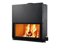 Fuego cerrado de leña Flat-100   EDILKAMIN