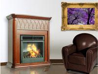 Revestimiento de madera para chimenea  PURLINE