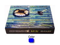 Kit completo tira flexible LED Azul SUPERLIGHT
