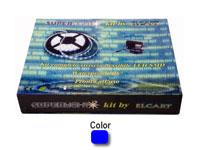 Kit completo tira flexible IP67 LED Azul SUPERLIGHT