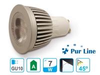 Bombilla LED dicroica GU10 de 7W luz blanca