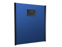 Calefactor split de pared con frontal azul