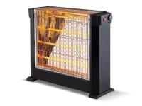 Calefactor halógeno con 4 barras cuarzo potencia de 2200W y termostato ajustable HEATY 2760
