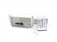 Controlador musical para tiras led RGB