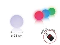Esfera LED ambiental 25 cm