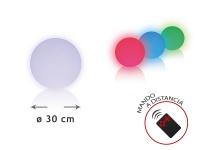 Esfera LED ambiental 30 cm