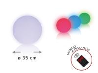 Esfera LED ambiental 35 cm