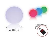 Esfera LED ambiental 40 cm