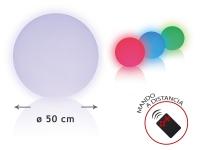 Esfera LED ambiental 50 cm