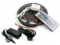 Kit completo LED 5050 SMD RGB con mando a distancia para interiores
