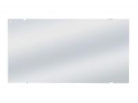 Radiador panel cristal templado espejo ZAFIR H1500LUX