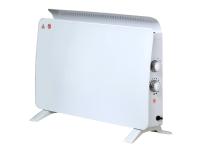 Radiador panel cristal templado color blanco ZAFIR H1500N W de PURLINE