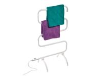 Toallero eléctrico blanco de pie o pared