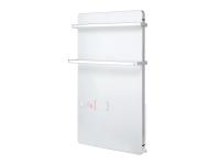 Toallero calefactor eléctrico digital de cristal templado con termostato