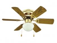 Ventilador reversible de techo con luz TROTTY  ORIEME