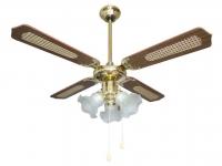Ventilador reversible de techo con luz DALLAS 3L de ORIEME
