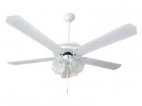 Ventilador de techo reversible con luz MIAMI B 4L ORIEME