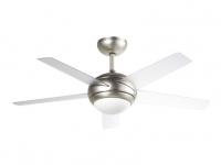 Ventilador de techo reversible con luz CROSSY ORIEME