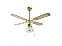 Ventilador reversible de techo con luz DALLAS 1L  ORIEME