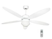 Ventilador de techo con luz y mando a distancia ZFR9111B