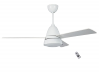 Ventilador de techo DC de 132 cm , motor potente con mando a distancia y luz  LED