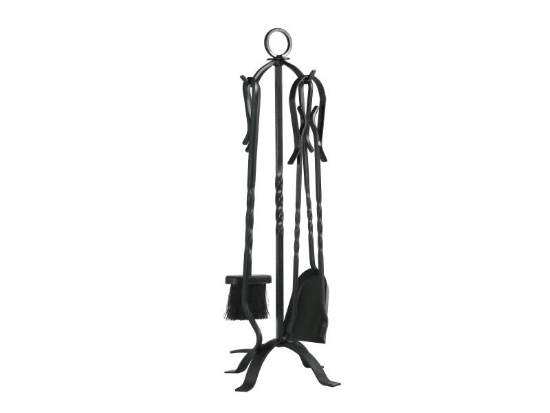 Purline juego 4 accesorios para chimenea - Accesorios para chimeneas ...