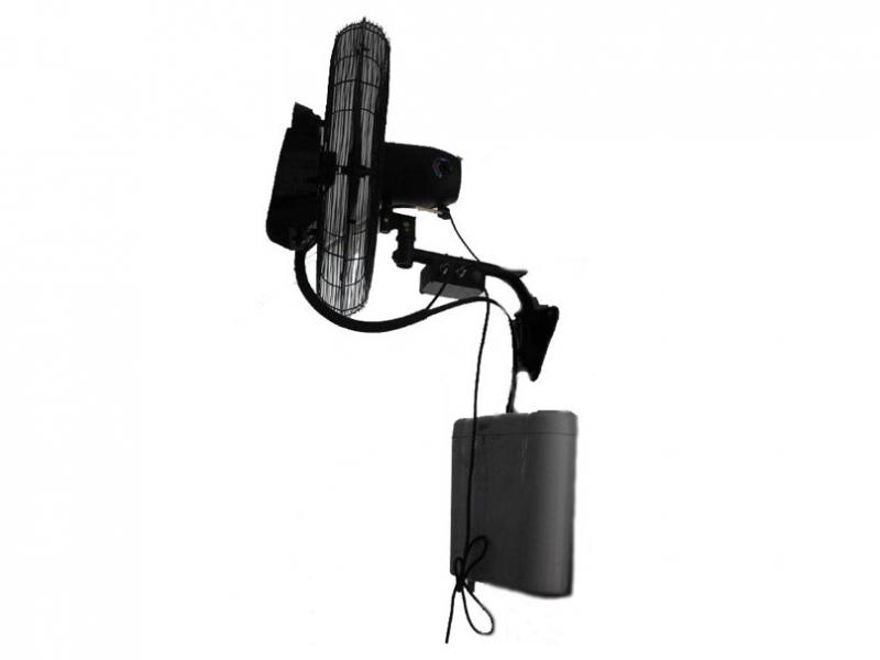 Purline ventilador de pared de agua micronizada - Ventilador de agua ...