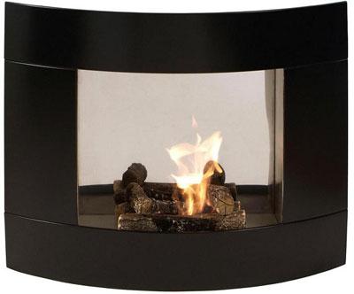 Chimenea concorde negra starline expertos - Chimeneas de biocombustible ...