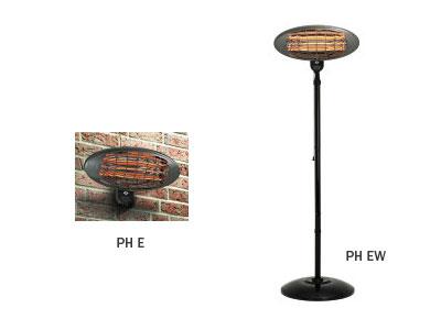 Estufa el ctrica para exterior eurofred - Estufas electricas para terrazas ...