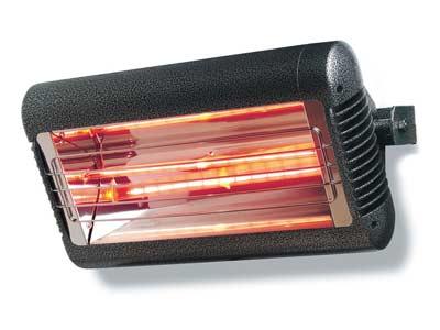 Calefactores infrarrojos para terrazas