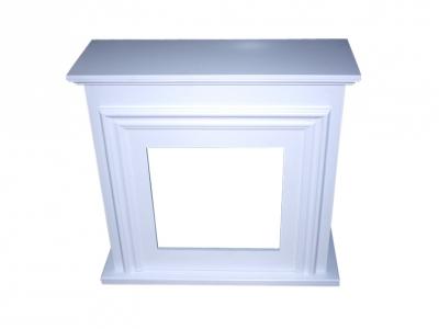 Revestimiento de madera color blanco para chimenea purline - Madera para chimenea ...