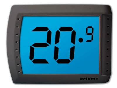 Termostato programable con pantalla digital t ctil visio for Termostato digital calefaccion programable