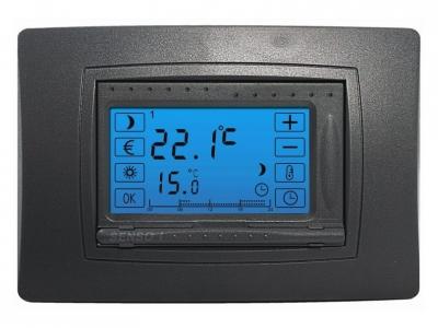 Termostato electr nico digital con pantalla t ctil senso - Termostato digital precio ...