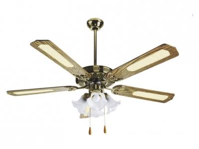 Ventilador de techo reversible con luz miami 4l orieme - Ventiladores de techo con luz baratos ...