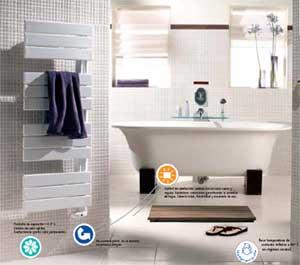 Radiadores secatoallas sillae tfa lvi for Radiadores toalleros electricos
